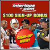Get your sports betting action on at Intertops Sportsbook